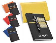 Caderno em Couro Sintético Sem Pauta 93713  Personalizado