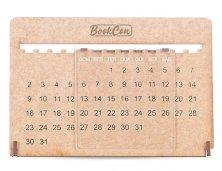Calendário Permanente MDF Com Acrílico 13856 Personalizado