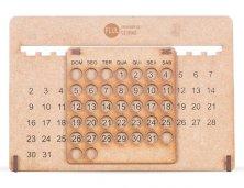 Calendário Permanente MDF 13854 Personalizado