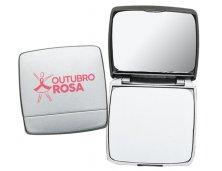 Espelho Plástico Duplo para Maquiagem 2634 Personalizado