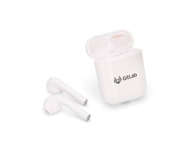 Fone de Ouvido Bluetooth com Case Carregador 14506
