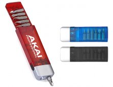 Kit Ferramenta 6 Funções com Lanterna 8755 Personalizado