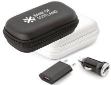 Kit Carregadores USB 57326 Personalizado