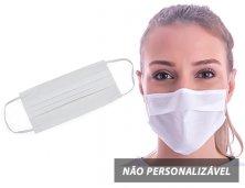Máscara Descartável TNT C/ Clipe Nasal 14452 Personalizado